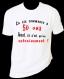 """Tee-shirt homme anniversaire humoristique imprimé """"la vie commence à 50 ans"""""""