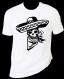 """Tee-shirt homme """"tête de mort mexicain"""""""