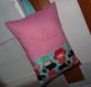 Coussin enfant idéal sieste maternelle enfant prenom ou initiales tissu au choix