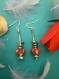 Boucles d oreilles charms à crochets longues