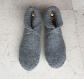 Chaussons en laine, 36/38, pure laine, tricotés main, chaussons de lit, convalescence, voyage, détente, anti dérapant, camping, montagne