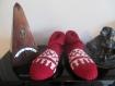 chaussons pure laine jacquard, femme, avion, lit, détente . style nordique