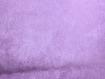 Tissu suédine violet /vendu au mètre