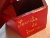 """Petite boite en bois""""secret de femme..."""""""