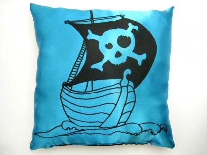 Coussin bateau pirates