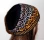 Bonnet unisex tricoté beanie couleur dégradée t.52-56 n033