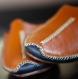 Babouches cuir - chaussons fait main en cuir