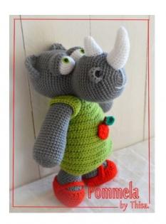 Pommela la rhinocéros