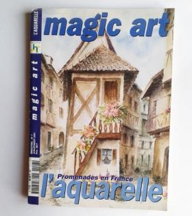 Revue et patrons aquarelle peinture occasion
