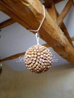 Boule de vin suspention
