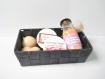 Coffret personnalisable - bien-être complet - assortiment : bombe de bain, gommage, baume à lèvres, etc - personnalisable