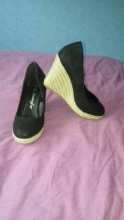 Chaussure compensée femme