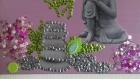 Joli tableau zen 30/40 cm fait main
