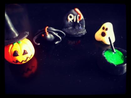 Lot pour déco halloween fimo