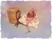 Pochette berlingot flamand rose