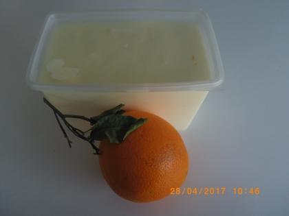Glaces orange