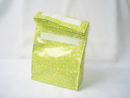 Sac à goûter - lunch bag - petit modèle - sac de vrac