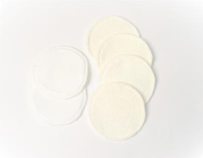 Coussinets d'allaitement lavables pour les mamans - protection imperméable pour montée de lait