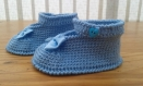 Chaussures fille crochet (6 mois)