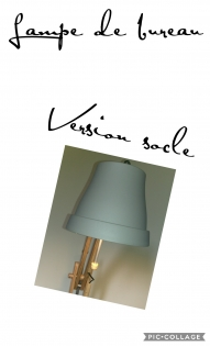 Lampe de bureau version socle