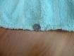 Trc 026 serviette pour cheveux verte