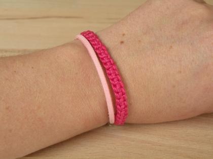 Bra 123 petit bracelet rose modèle 3