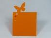 Marque nom collection papillons (lot de 3)