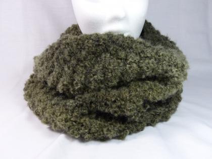 Snood tour de cou pure douceur couleur vert