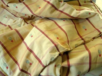 Magnifique tissu en damassé tissé d'excellente qualité de chez « laura ashley » 210x265cm