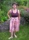 Robe dansante - bordeau/imprimé - 40
