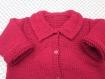 Veste rouge 24 mois