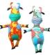 Patron de couture - peluche vache folle - design de melly and me