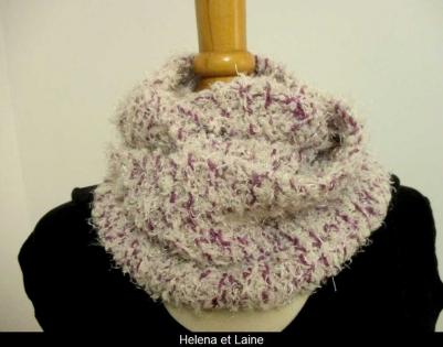 Snood au tricot tout doux