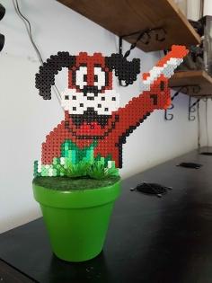 Fleur pixel art *duck hunt*