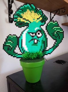 Fleur pixel art * plante vs zombie*