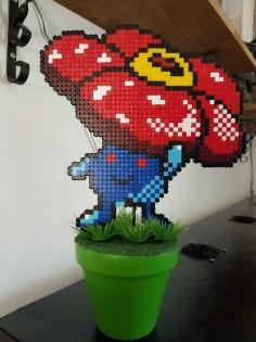 Fleur pixel art *pokemon*