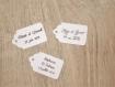 10 étiquettes mariage, baptême, anniversaire,... - a personnaliser