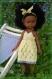 Fiche tricot : trois tenues au point ajouré pour poupées de 32-33 cm