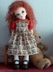 Patron : chemisier et robe pour poupées ann estelle, patsy, boneka...
