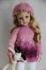 Fiche tricot : flocon, tunique et bonnet pour poupées marue and friends