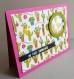 Carte cactus avec mini shaker - amitié toute occasion