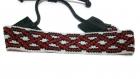 Bracelet homme en perles de rocaille motifs ethniques.