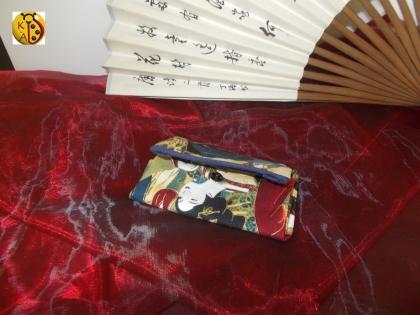 Petit porte monnaie à soufflet geisha