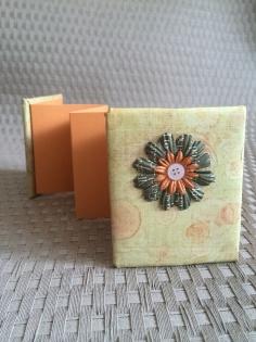 Mini album photo accordéon petite fleur