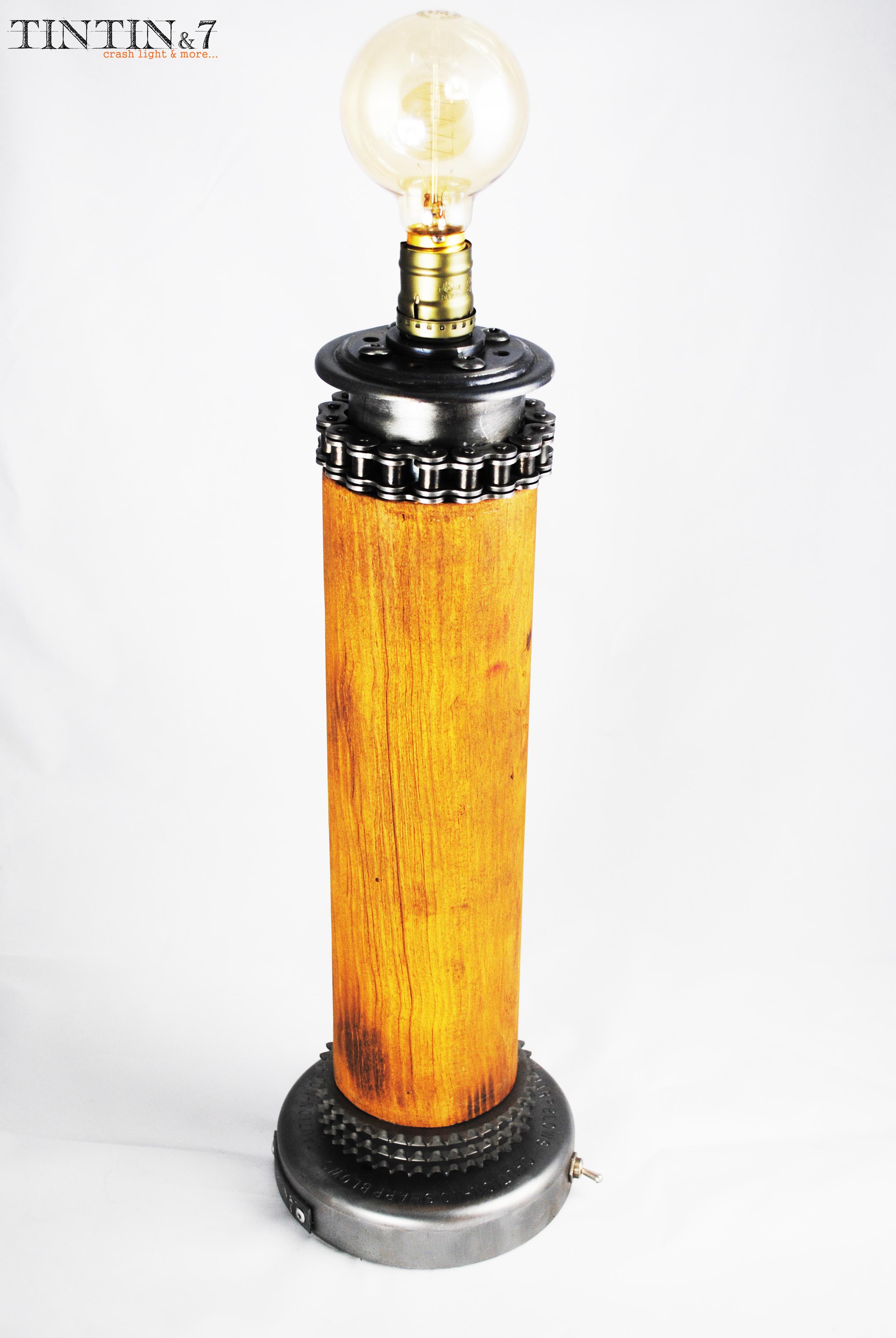 Lampe crashlight : maison-et-deco-accessoires par tintin-and-7