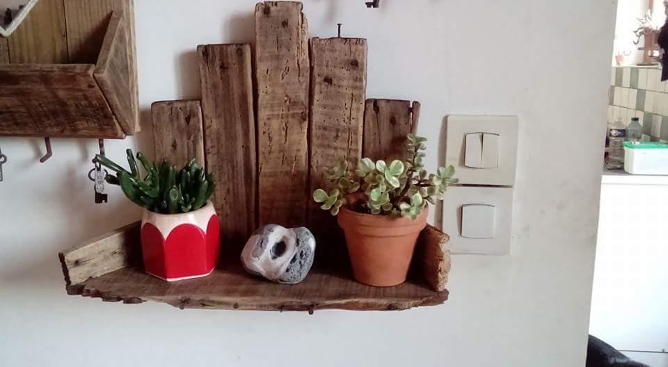 Tag re murale objets deco par garotte - Etagere murale fait maison ...