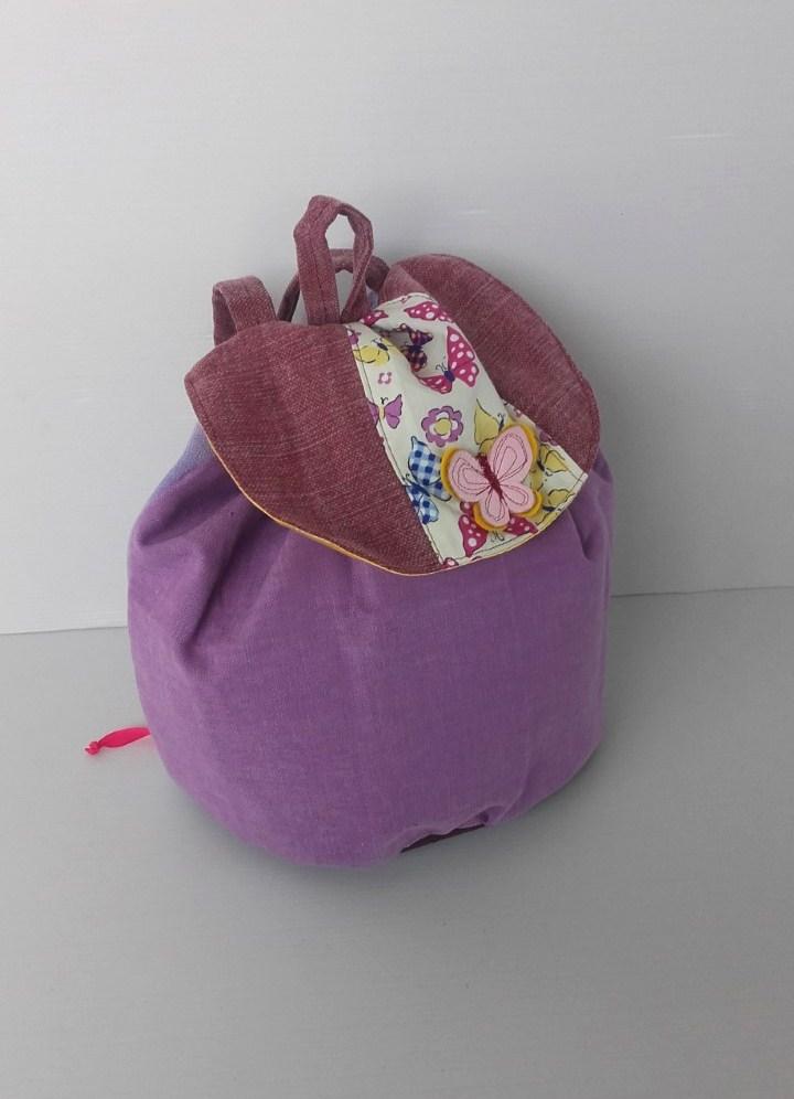 sac dos maternelle petite fille sac cr che sac cole accessoires enfant par creationsdemarie. Black Bedroom Furniture Sets. Home Design Ideas