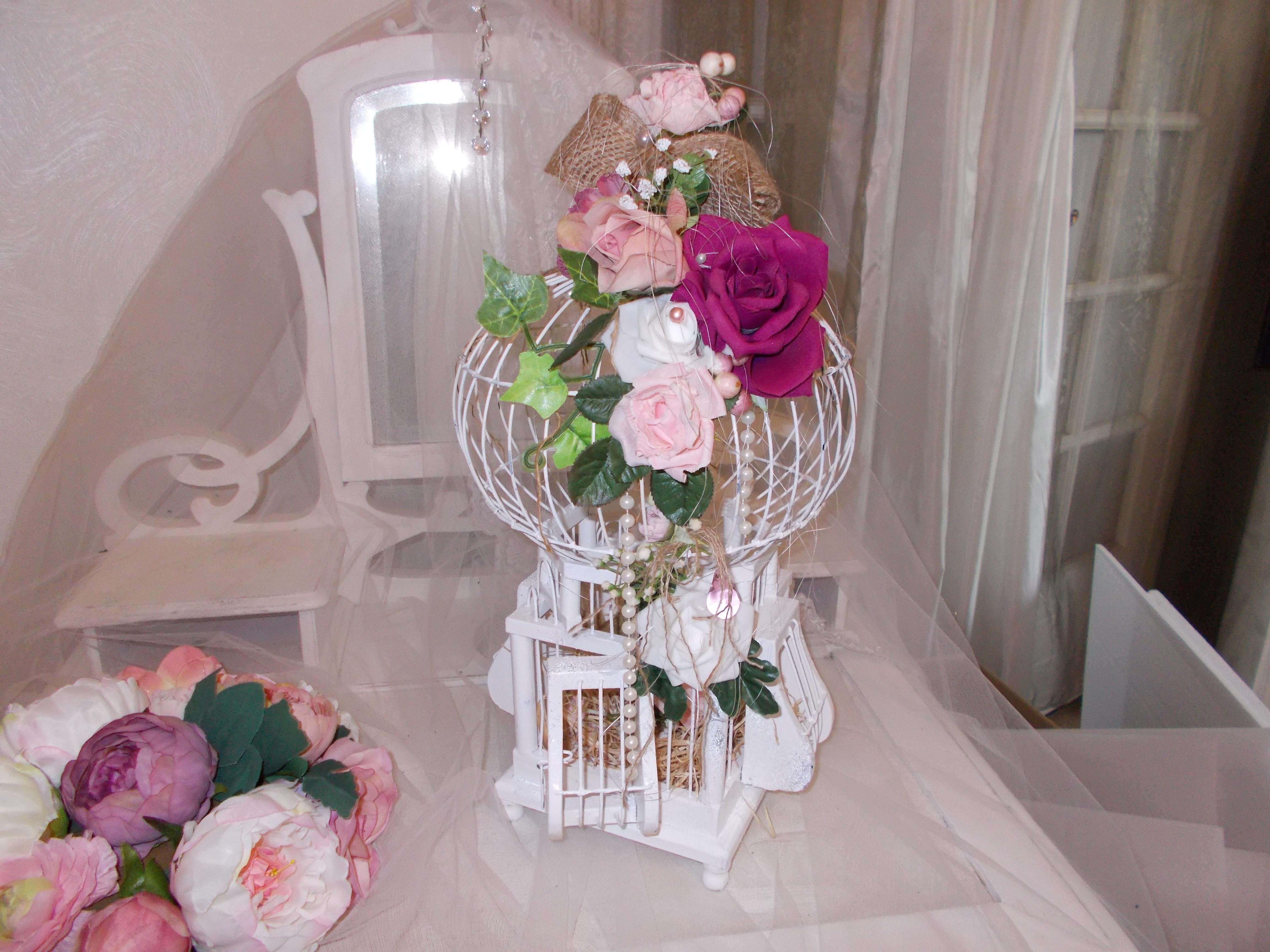urne mariage shabby chic vintage campagne chic mode mariage par mariage. Black Bedroom Furniture Sets. Home Design Ideas