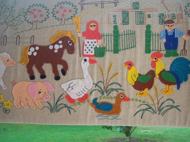 tableau d coratif en tissu pour chambre d 39 enfant enfants chambre d enfant par minigeli deco. Black Bedroom Furniture Sets. Home Design Ideas