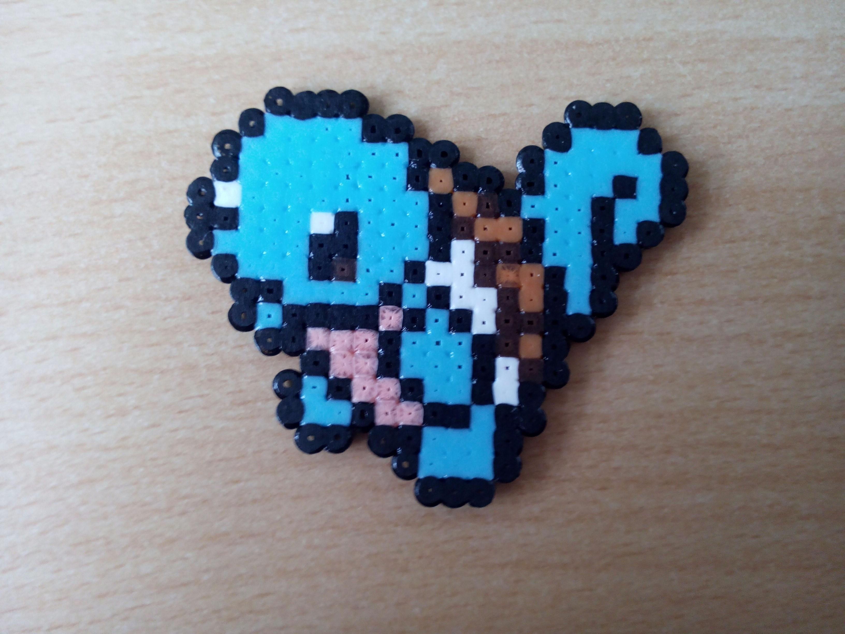 Pixel Art Carapuce Pokemon